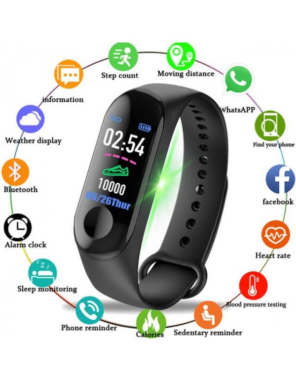 Bluetooth Smart Wristband Watch